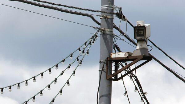 Novērošanas kamera. Foto no arhīva - Sputnik Latvija