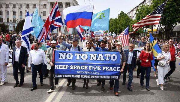 Первомайские демонстрации в регионах России - Sputnik Latvija