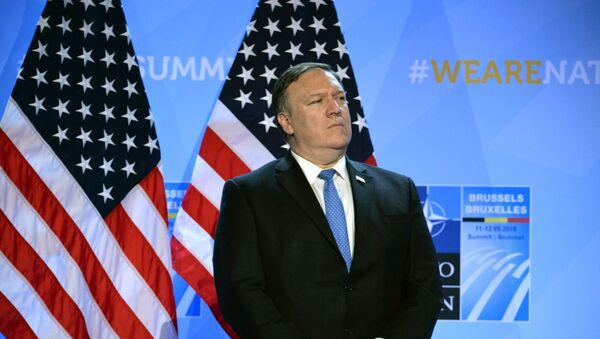 Госсекретарь США Майк Помпео - Sputnik Latvija