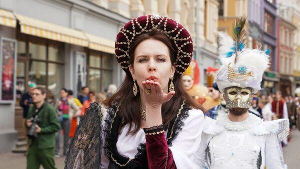 Традиционный карнавал Майский граф в Риге - Sputnik Latvija