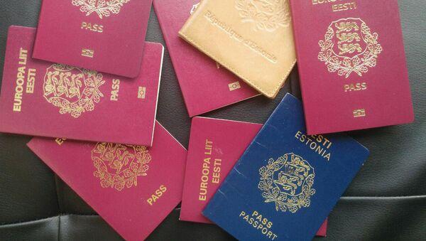 Эстонские паспорта - Sputnik Latvija