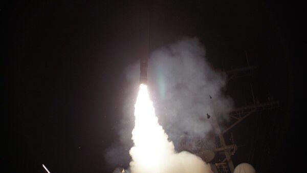Пуск американской управляемой ракеты Tomahawk - Sputnik Latvija