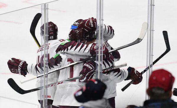 Хоккей. Чемпионат мира. Матч Италия - Латвия - Sputnik Латвия