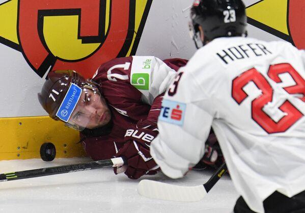 Хоккей. Чемпионат мира. Матч Латвия - Австрия - Sputnik Латвия