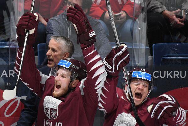 Хоккей. Чемпионат мира. Матч Австрия - Латвия - Sputnik Латвия