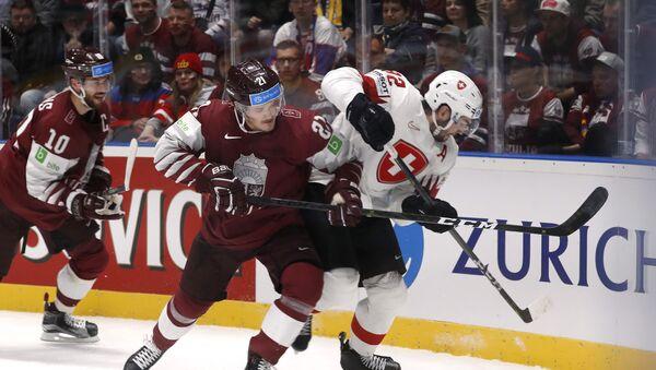 Хоккей. Чемпионат мира. Матч Швейцария - Латвия - Sputnik Latvija