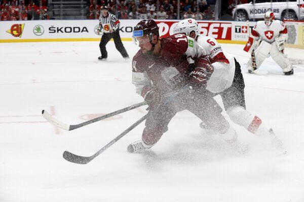 Хоккей. Чемпионат мира. Матч Швейцария - Латвия - Sputnik Латвия
