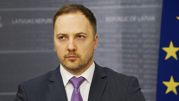 Министр внутренних дел Сандис Гиргенс - Sputnik Латвия