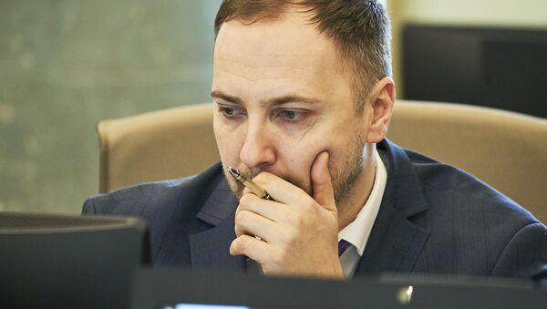 Министр внутренних дел Сандис Гиргенс - Sputnik Latvija