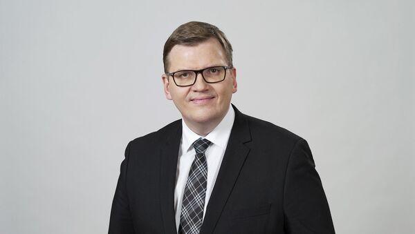 Министр защиты среды и регионального развития Юрис Пуце - Sputnik Латвия