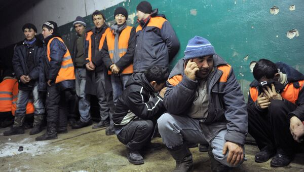 Рабочие мигранты - Sputnik Латвия