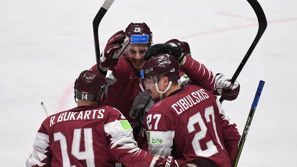 Хоккей. Чемпионат мира. Матч Латвия - Россия - Sputnik Латвия