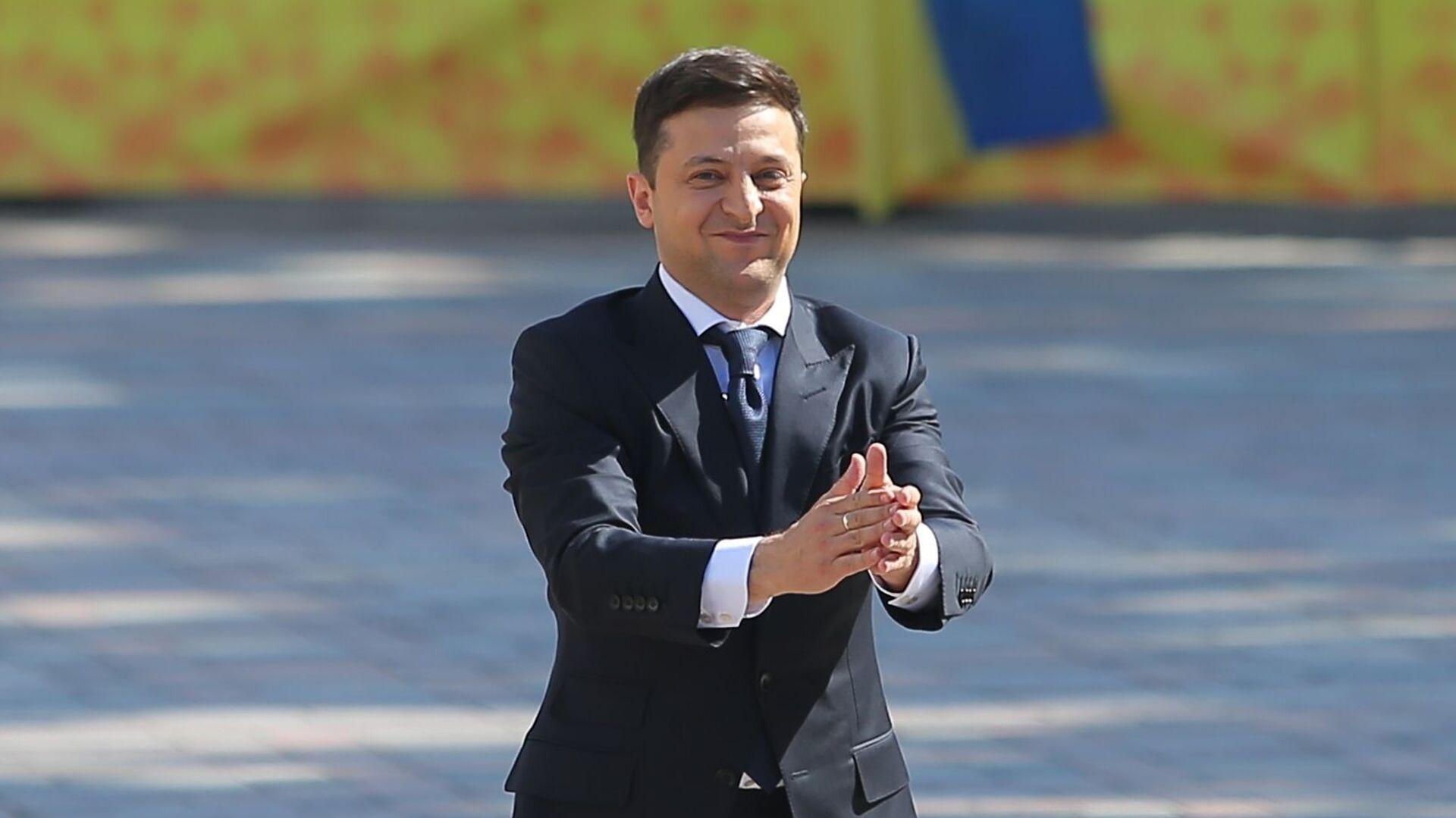 Президент Украины Владимир Зеленский - Sputnik Латвия, 1920, 03.06.2021
