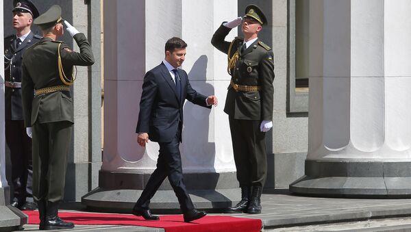 Инаугурация избранного президента Украины В. Зеленского - Sputnik Латвия