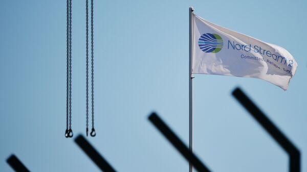Строительство газопровода Северный поток-2 в Германии - Sputnik Latvija