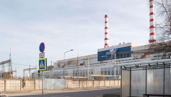Балтийская ЭС входит в структуру Нарвских электростанций - Sputnik Латвия