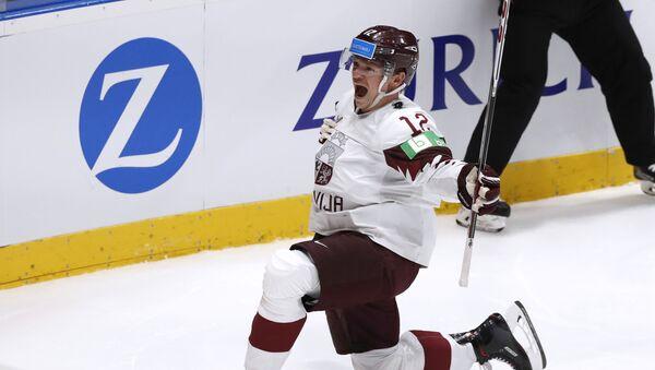 Матч Норвегия-Латвия чемпионата мира по хоккею - Sputnik Латвия