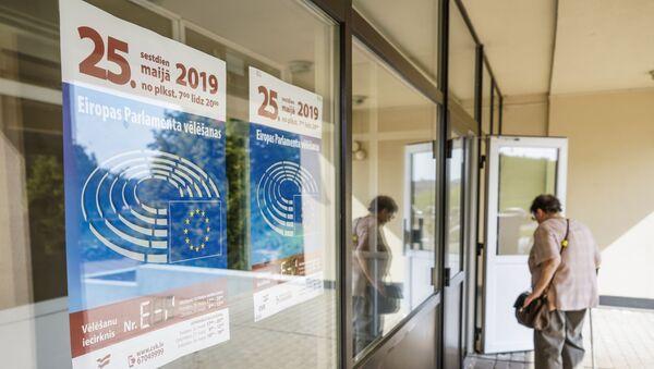 В Латвии началось голосование на выборах в Европарламент - Sputnik Латвия