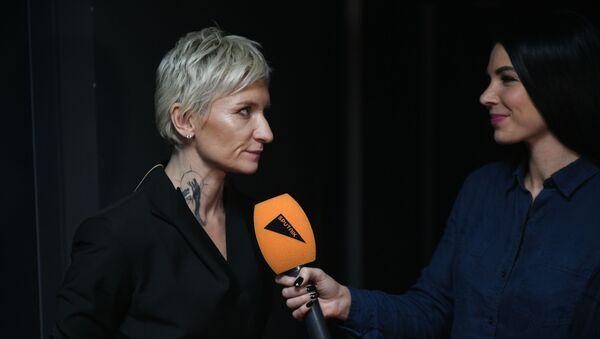Арбенина и Дробыш рассказали о впечатлениях от финала Ты супер! - Sputnik Латвия