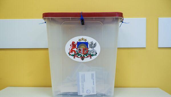 Голосование на выборах в Европарламент в Риге - Sputnik Latvija