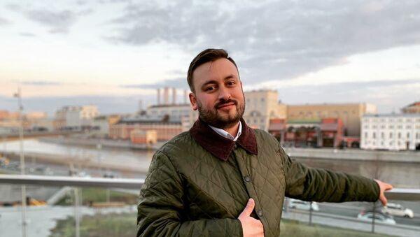 Шеф-редактор Sputnik Литва Марат Касем, архивное фото - Sputnik Latvija