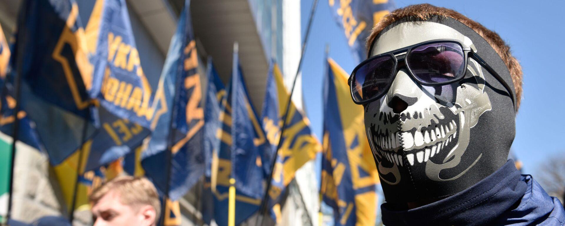 Участники радикальных движений в Киеве, архивное фото - Sputnik Latvija, 1920, 01.06.2019