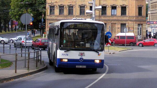 Автобус в Риге - Sputnik Латвия