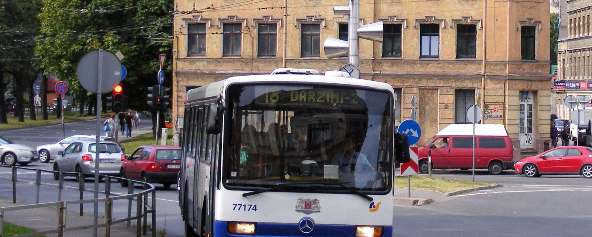 Автобус - Sputnik Латвия, 1920, 12.05.2021