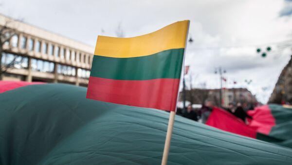 Флаг Литвы, архивное фото - Sputnik Latvija