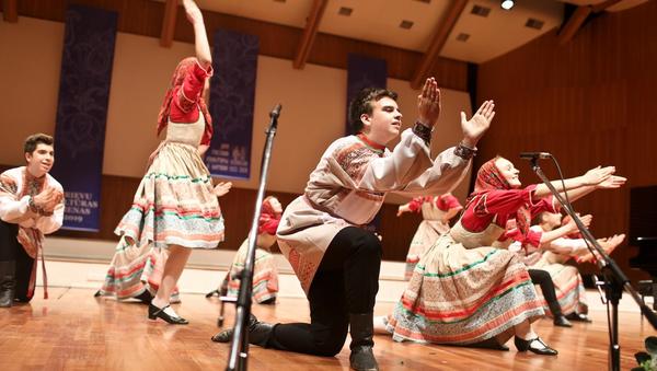 Открытие Дней русской культуры в Большой гильдии 23 мая 2019 года - Sputnik Латвия