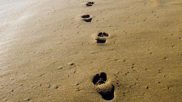 Следы на песке - Sputnik Latvija