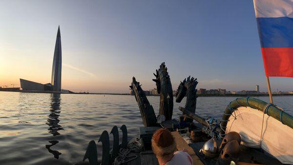 Российская яхта Змей Горыныч - Sputnik Latvija