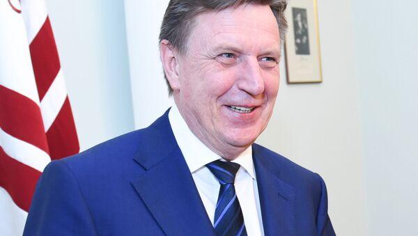 Премьер-министр Латвии Марис Кучинскис - Sputnik Латвия