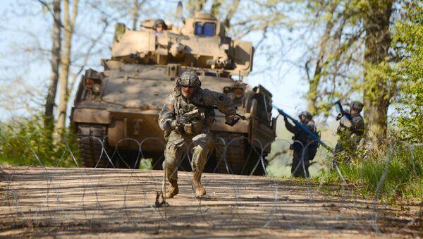 ASV armijas militārās mācības. Foto no arhīva - Sputnik Latvija