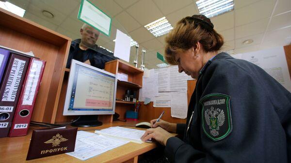 Работа Росcельхознадзора на таможне - Sputnik Латвия