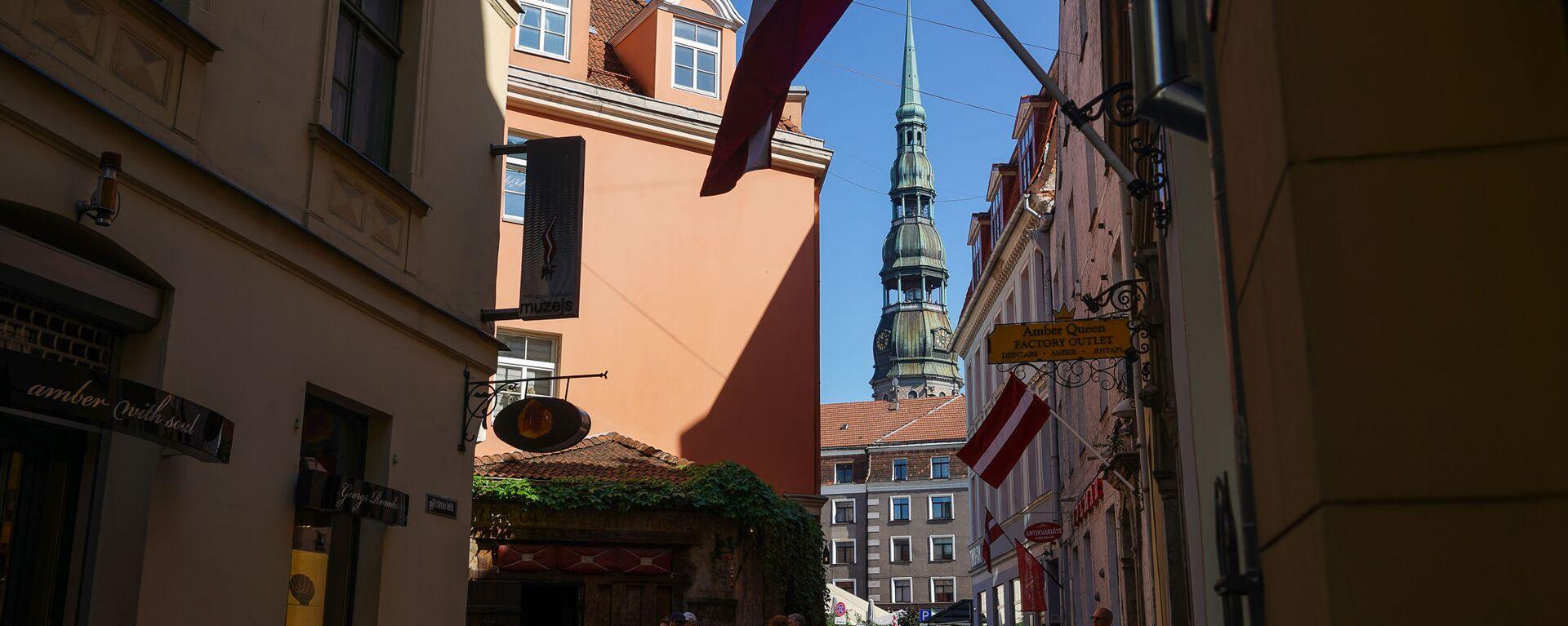 Улица Краму в Старой Риге - Sputnik Латвия, 1920, 08.08.2021