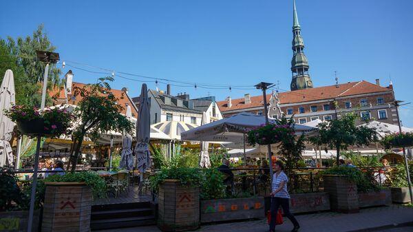 Улица в Старой Риге - Sputnik Латвия