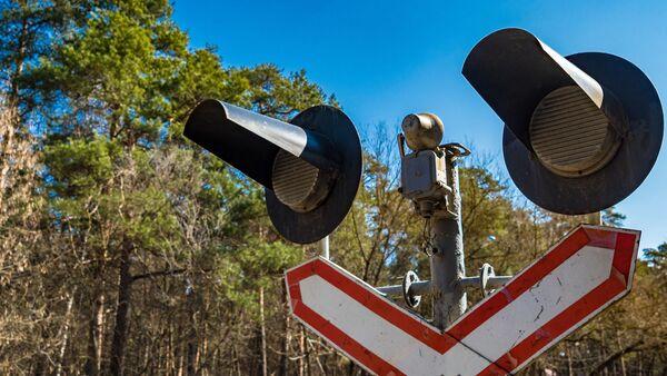 Железнодорожный переезд - Sputnik Латвия