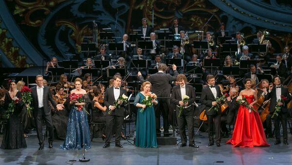 Гала-концерт Рижского оперного фестиваля - Sputnik Латвия