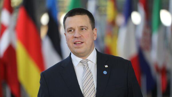 Премьер-министр Эстонии Юри Ратас - Sputnik Латвия