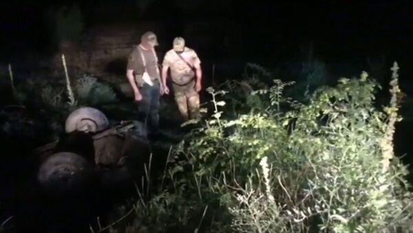 Готовили нападение с оружием: видео с места ликвидации боевиков ИГ* - Sputnik Латвия