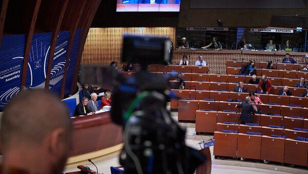 Сессия Парламентской ассамблеи Совета Европы - Sputnik Латвия