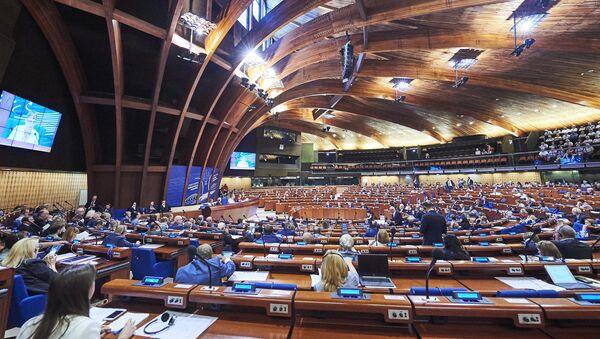Летняя сессия Парламентской ассамблеи Совета Европы - Sputnik Latvija