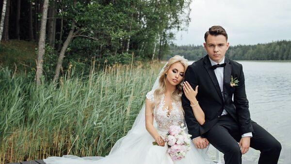 Снимок со свадьбы Эдгарса Кулды - Sputnik Латвия