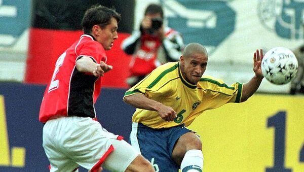 Футбольный матч Латвия - Бразилия, 26 июня 1999 года - Sputnik Латвия