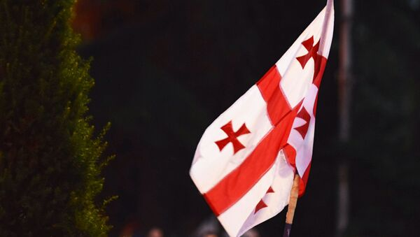 Флаг Грузии - Sputnik Latvija