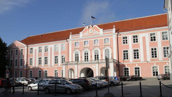 Riigikogu, здание правительства в Таллинне, Эстония - Sputnik Latvija