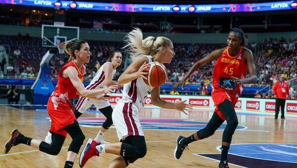 Игра группового этапа Евробаскета-2019 между сборными Латвии и Испании - Sputnik Латвия