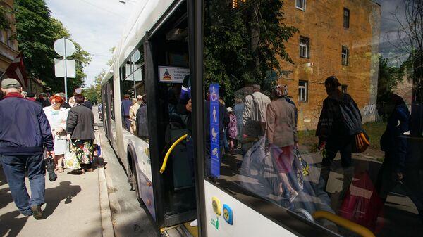 Общественный транспорт в Риге - Sputnik Латвия