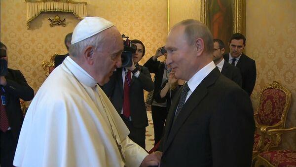 Путин, Франциск и Грех - Sputnik Латвия